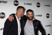 George Newbern and Guillermo Diaz — Stock Photo