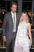 Kristen Bell and Dax Shepard — Stock Photo