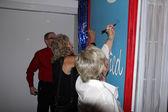 Mark Simpson, Susan Hathaway and Sharon DeBord — Stock Photo
