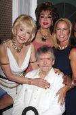Francine York, Marilyn Hanold, Erin Murphy and Bernard Fox — Stock Photo
