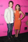Miles Teller and Jessica Szohr — Stock Photo