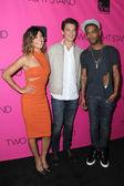 Jessica Szohr, Miles Teller and Scott Mescudi — Stock Photo