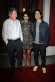 Michael Parks, Genesis Rodriguez and Justin Long — Stock Photo
