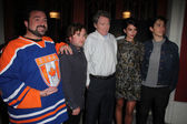 Kevin Smith, Haley Joel Osment, Michael Parks, Genesis Rodriguez and Justin Long — Stock Photo
