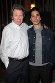 Michael Parks and Justin Long — Stock Photo