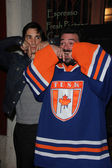 Justin Long and Kevin Smith — Stock Photo