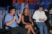 David Lawrence, Erin Murphy and Bernard Fox — Stock Photo