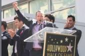 Joey Mcintyre, Jordan Knight, Donnie Wahlberg, Danny Wood and Jonathan Knight — Zdjęcie stockowe