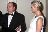Prince Albert II of Monaco, Princess Charlene of Monaco — ストック写真