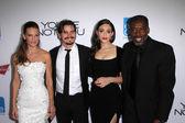 Hilary Swank, Jason Ritter, Emmy Rossum, Ernie Hudson — Foto de Stock