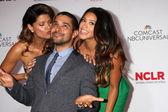 Andrea Navedo, Wilmer Valderrama, Gina Rodriguez — Stock Photo