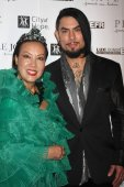 Sue Wong and Dave Navarro — Stock Photo