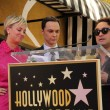 Постер, плакат: Kaley Cuoco Jim Parsons and Johnny Galecki