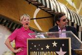 Kaley Cuoco and Chuck Lorre — Stock Photo
