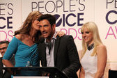 Allison Janney, Dylan McDermott and Anna Faris — Photo