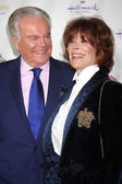 Robert Wagner and Jill St. John — Stock Photo