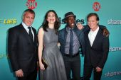 Matt LeBlanc, Emmy Rossum, Don Cheadle, William H. Macy — Stok fotoğraf