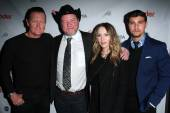 Robert Patrick, Bruce McDonald, Chloe Rose, Aidan Shipley — Stock Photo