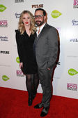 A.J. McLean, Rochelle Karidis — Stock Photo