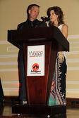 Todd Warner, Linda Blair — Fotografia Stock