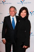 Les Moonves, Julie Chen — Stock Photo