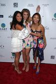 Chloe Flower, AnnaLynne McCord, Jeannie Mai — Stockfoto