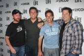 Scott Grimes, Bob Guiney, Adrian Pasdar, Greg Grunberg — Stockfoto