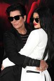 Kris Jenner, Kylie Jenner — Fotografia Stock