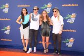 Ali Krieger, Abby Wambach, Christie Rampone, Ashlyn Harris — Stock Photo
