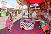 Phoebe Price at the Orange County Fair — Stok fotoğraf