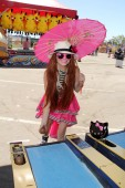 Phoebe Price at the Orange County Fair — Stock Photo