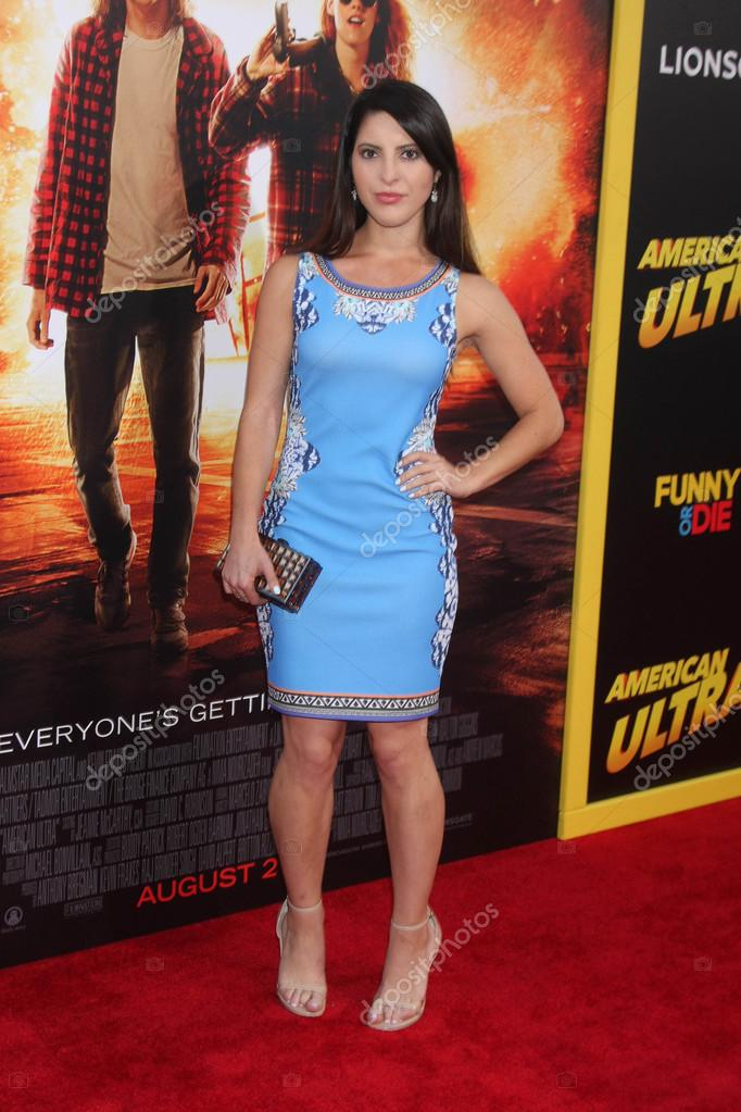 """Actress Ashley Arpel at the """"American Ultra"""" Los Angeles Premiere, Ace Hotel, Los Angeles, CA 08-18-15 — Photo by s_bukley"""
