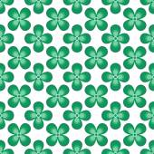 Seamless pattern from leaves of clover. Abstract pattern .St. Patricks Day. — Stock Vector
