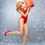 Santa girl — Stock Photo #58712357