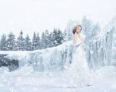 L 花嫁の花束 — ストック写真