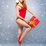 Santa girl — Stock Photo #58819219
