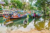 Tai fishing boats — Stock Photo