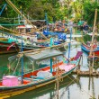 Traditional tai fishing boats — Stock Photo #73899735