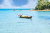 Fisherman's boat in the sea — Stock Photo