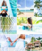 Seasonal summer pictures — Stock Photo