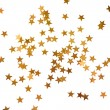 Holiday background with little golden stars — Stock Photo #55655263