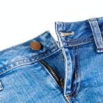 Blue denim jeans close up — Stock Photo #59449281