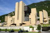 The municipal casino of Campione d'Italia — Stock Photo