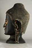Statue of buddha's head — Stock Photo