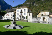 The old village of Cevio on Maggia valley — Stockfoto