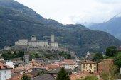 The Fort of Castelgrande at Bellinzona — 图库照片