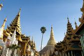 The Shwedagon Pagoda in Yangon — Stock Photo