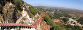 Path to the Pindaya caves — Stock Photo