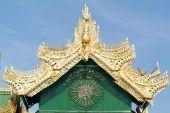 Soon U Ponya Shin pagoda at Sagaing — Stock Photo