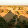 Panoramic view at the archaeological site of Bagan — Stock Photo #59025667